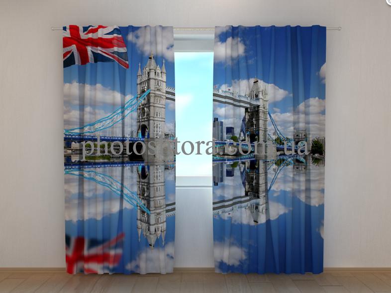 """Фото шторы """"Лондонский мост"""" 250 х 260 см"""