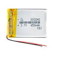 Аккумулятор 303040 Li-pol 3.7В 500мАч для RC моделей DVR GPS MP3 MP4