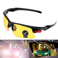 Очки с желтыми линзами для вождения водителей, желтые Cпортивные