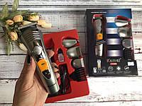 Аккумуляторная машинка для стрижки Gemei Gm-580, 7 в 1 набор для стрижки