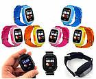 Детские смарт часы Q90 Gsm, sim, Sos,Tracker Finder Smart Watch Синие, фото 5