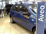Молдинги на двери для Сhevrolet Aveo T200, T255 5Dr, ZAZ Vida хетчбек 2002+, фото 4
