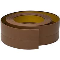 Самоклеящийся плинтус, 20 мм х 30 мм, Тёмно-коричневый