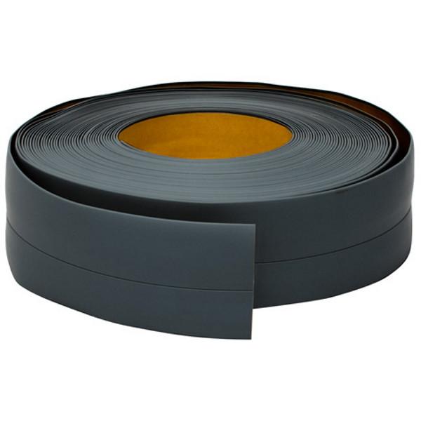 Эластичный плинтус, 20 мм х 30 мм, 5 м Тёмно-серый