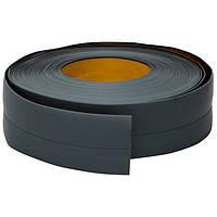 Эластичный плинтус, 20 мм х 30 мм, 5 м Тёмно-серый, фото 1