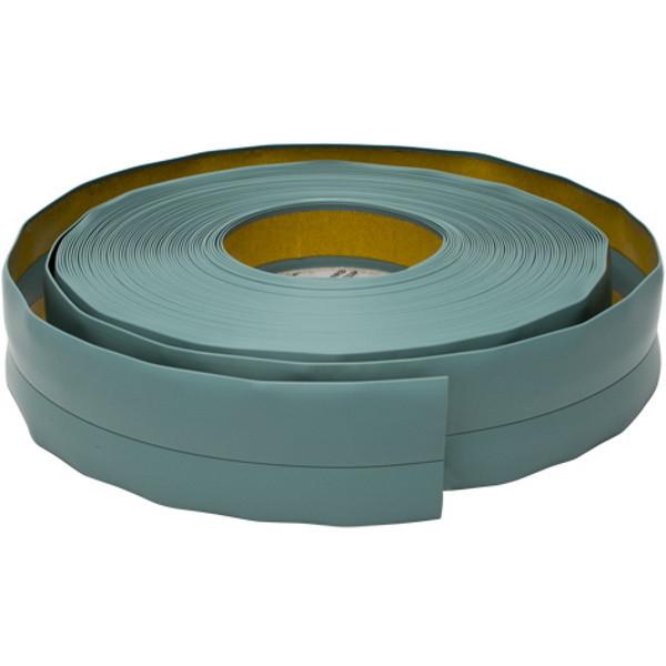 Плинтус мягкий напольный, 20 мм х 30 мм, 5 м Зелёный