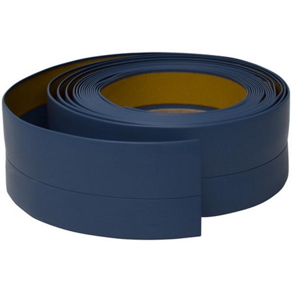 Плинтус для пола гибкий, 20 мм х 30 мм, 5 м Голубой