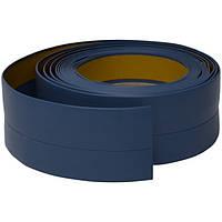 Плинтус для пола гибкий, 20 мм х 30 мм, 5 м Голубой, фото 1