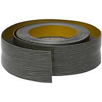 Плинтус-уголок самоклеящийся, 20 мм х 30 мм, 5 м Ясень серый