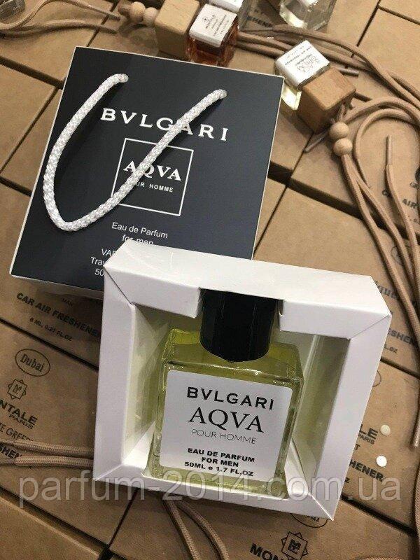 Мини парфюм Bvlgari Aqua pour homme в подарочной упаковке 50 ml NEW (реплика)