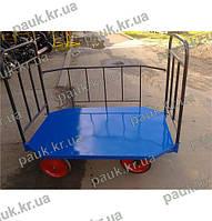 Платформовий візок металевий РПТ-К- 310 М, фото 1
