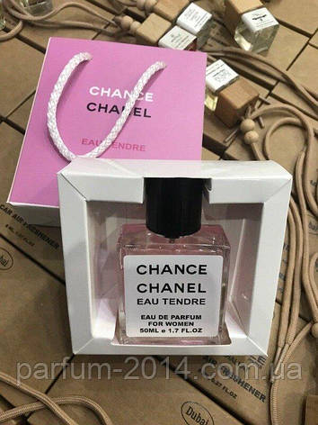 Мини парфюм Chanel Chance Eau Tendre в подарочной упаковке 50 ml NEW (реплика), фото 2