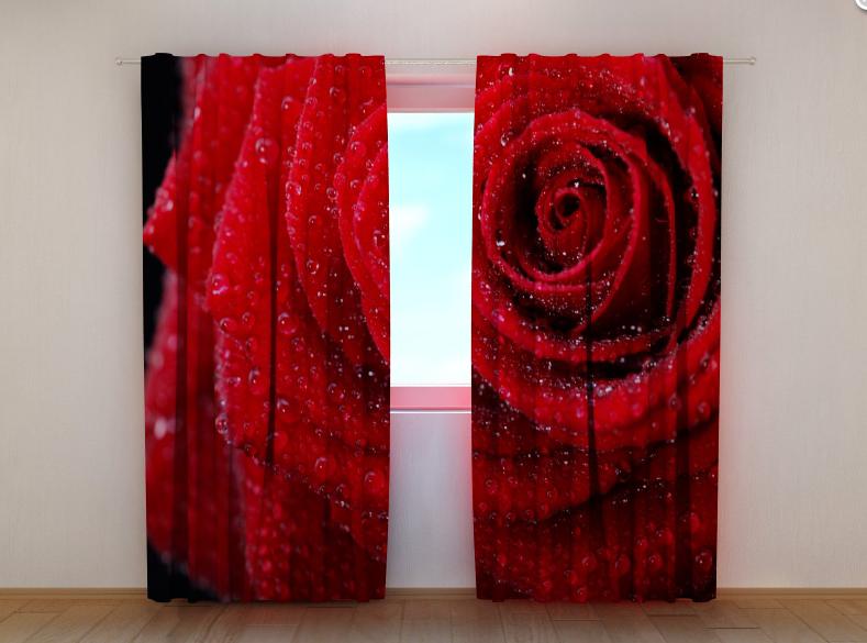 """Фото шторы """"Роза"""" 250 х 260 см"""