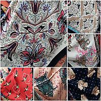 Шейные женские платки 57х57