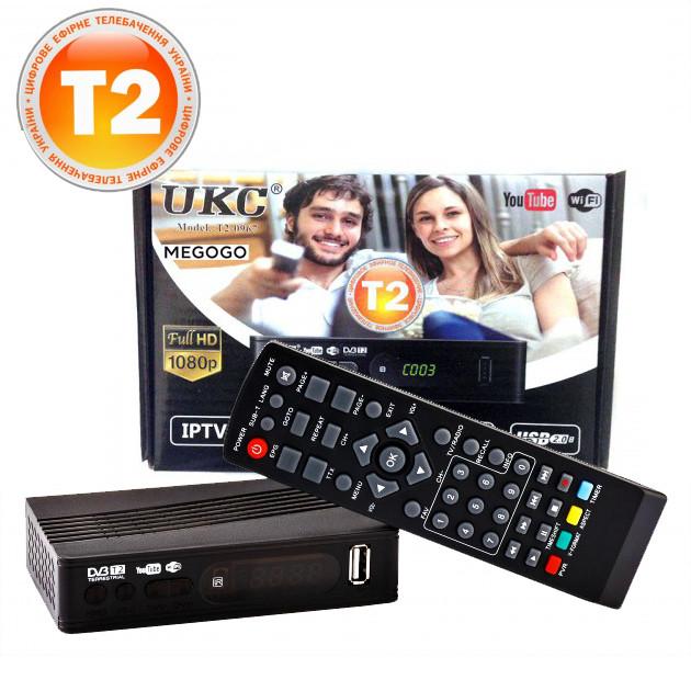 Приставка DVB-T2 для телевизора UKC T2-0967