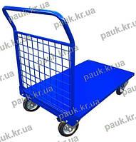 Вантажний платформовий візок металевий РПТ-008Н - 160М