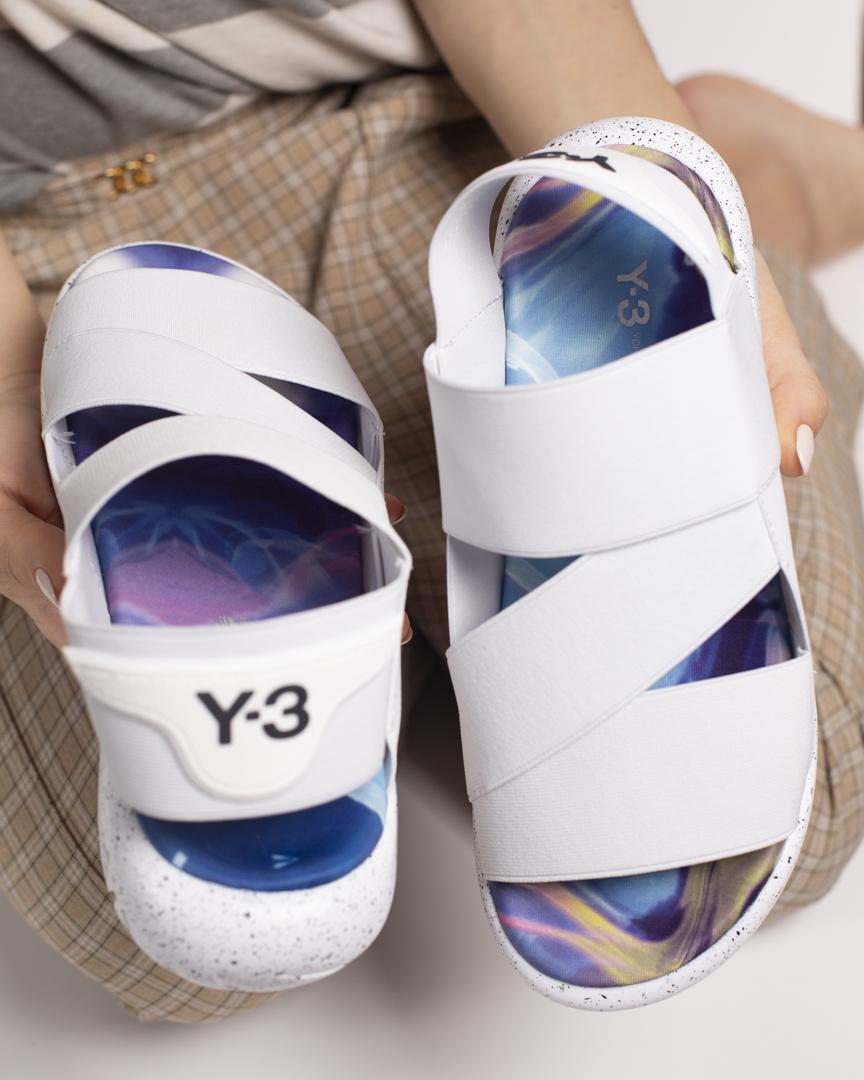Босоножки женские в стиле Adidas Sandal Y-3 Yohji Yamamoto