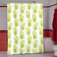 Шторка для ванной PLANT зеленый
