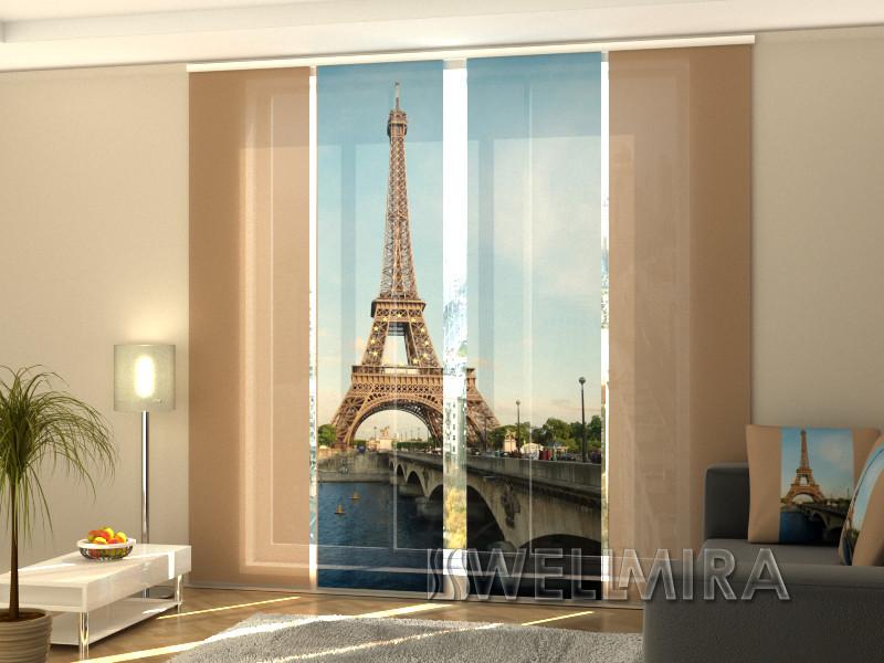 """Панельні Фото штори """"Біла вежа"""" 240 х 240 см"""