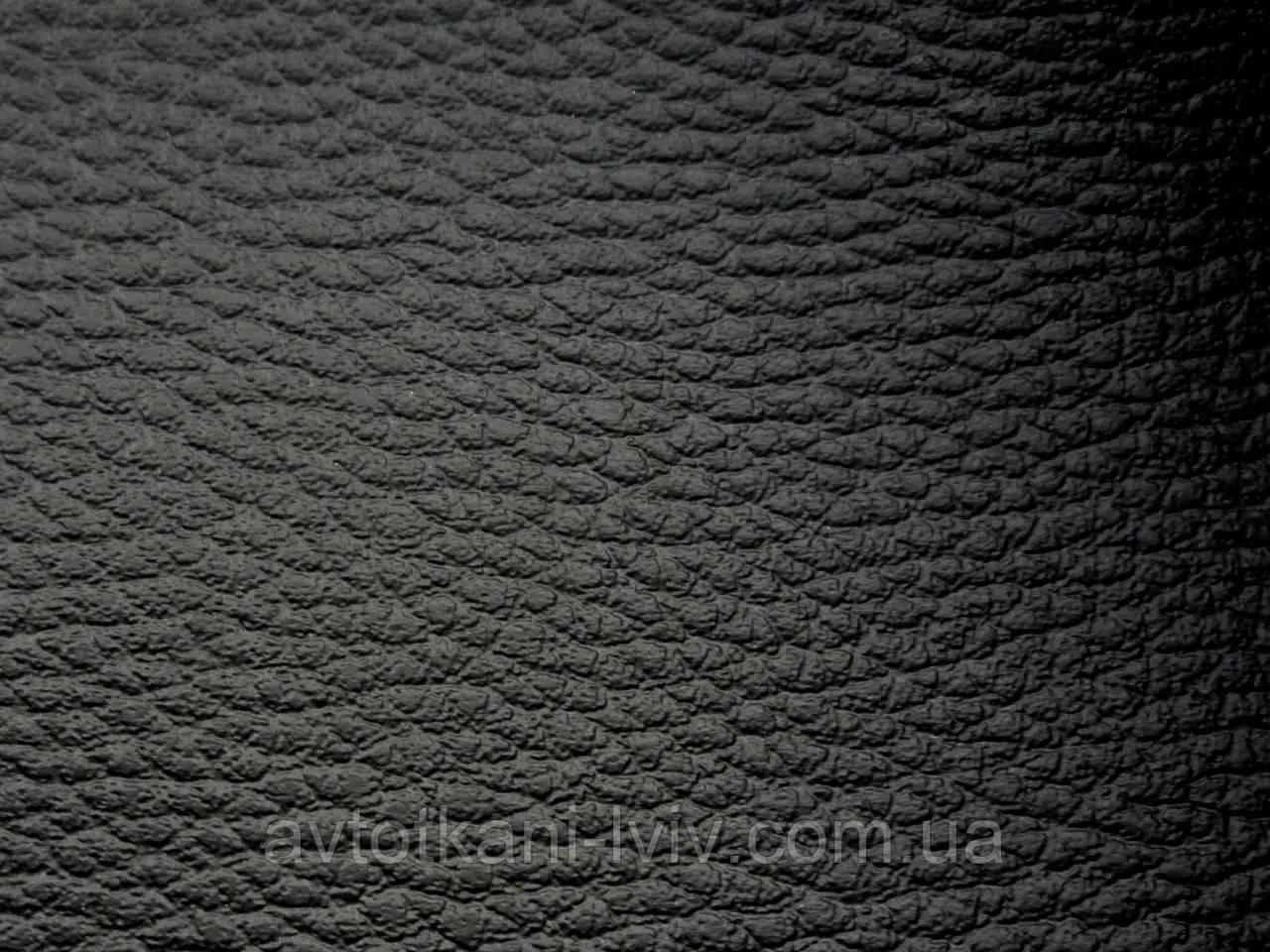 Биэластик, кожзам тягучий черный, для перетяжки салона авто.Толщина материала 1мм.