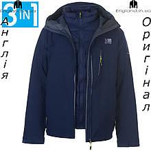 Акция ! Размер L (наш 50й) - Куртка мужская 3в1 Karrimor из Англии - зимняя