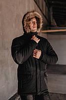 "Парка мужская Pobedov Winter Parka ""ALASKA BLACK, фото 1"