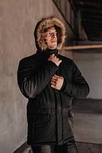 "Парка мужская Pobedov Winter Parka ""ALASKA BLACK"