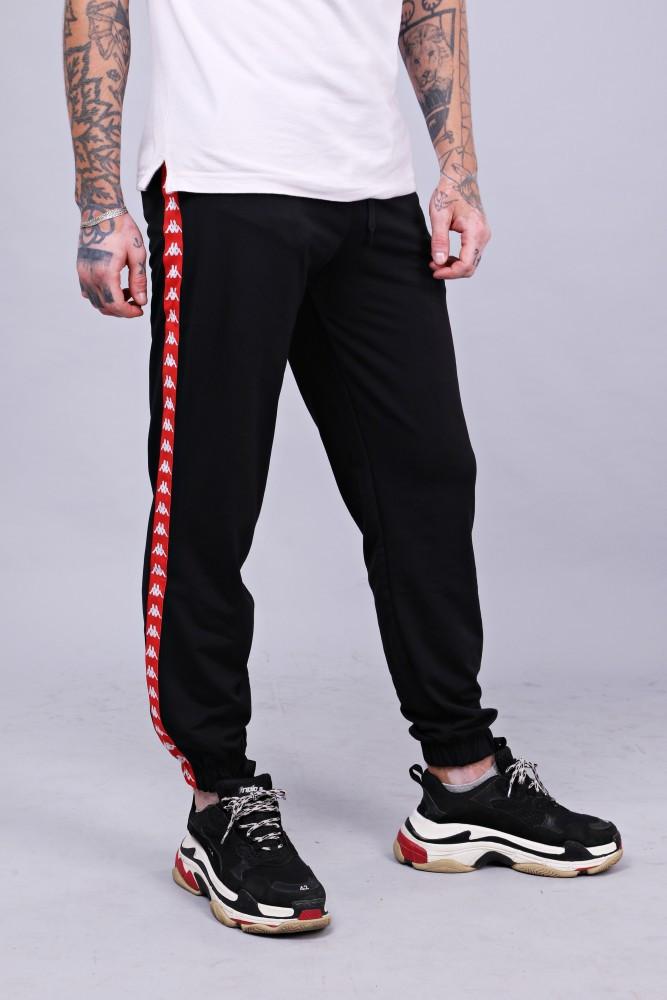 Спортивні штани з лампасами Kappa ч/к