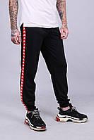 Спортивные штаны с лампасами Kappa ч/к