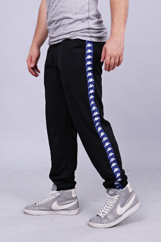 Спортивні штани з лампасами Kappa ч/з
