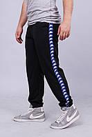 Спортивные штаны с лампасами Kappa ч/с
