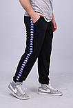 Спортивні штани з лампасами Kappa ч/з, фото 2