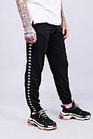 Спортивные штаны с лампасами Kappa ч/ч