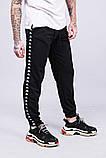Спортивные штаны с лампасами Kappa ч/ч, фото 2