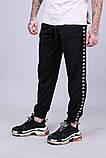 Спортивные штаны с лампасами Kappa ч/ч, фото 4