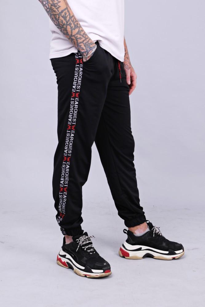 Спортивные штаны Quest Wear - Fingers Up, Black