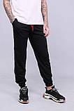 Спортивные штаны Quest Wear - Fingers Up, Black, фото 2