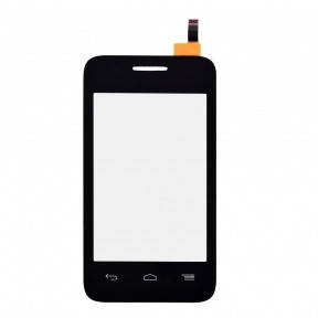 Сенсор (тачскрин) Alcatel One Touch 4018 POP D1 черный, фото 2