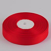Лента репс 2 см, 33 м, Красный ТВ