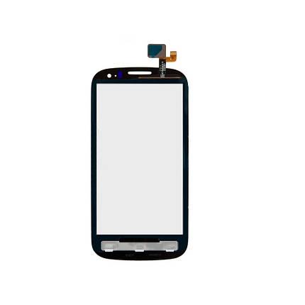 Сенсор (тачскрин) Alcatel One Touch 5036 Pop C5 Dual Sim черный, фото 2