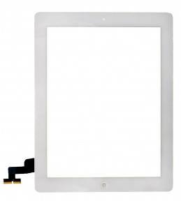 Сенсор (тачскрин) Apple iPad 2 A1395, A1396, A1397 белый с кнопкой HOME, фото 2