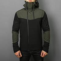 Мужская куртка Pobedov Jacket Khaki-Black (весна-осень), фото 1