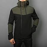 Мужская куртка Pobedov Jacket Khaki-Black (весна-осень), фото 2