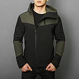 Мужская куртка Pobedov Jacket Khaki-Black (весна-осень), фото 4