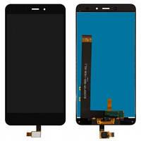 Дисплей Xiaomi Redmi Note 4 Helio X20 MediaTek с сенсором (тачскрином) черный