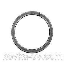 Кованое декоративное  кольцо  10х10 / 12х12 квадрат гладкий