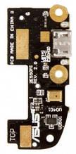 Нижняя плата Asus ZenFone 2 (ZE550CL) Z00D с разъемом зарядки и микрофоном