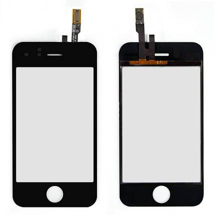 Сенсор (тачскрин) Apple iPhone 3GS черный, фото 2