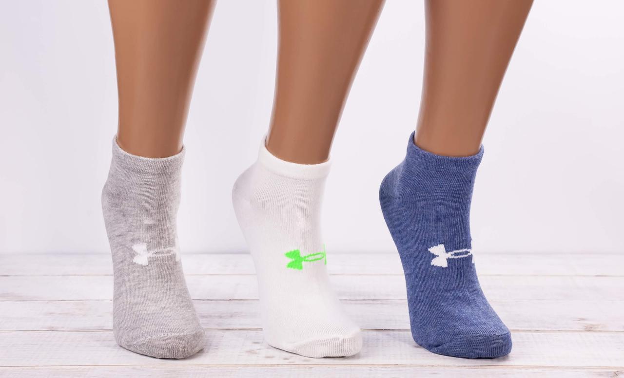 Носки жіночі з малюнком бантик шкарпетки стрейчеві Montebello 35-40 12 шт в уп мікс 4 кольорів