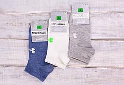 Носки женские с рисунком бантик носки стрейчевые Montebello 35-40 12 шт в уп микс 4 цветов
